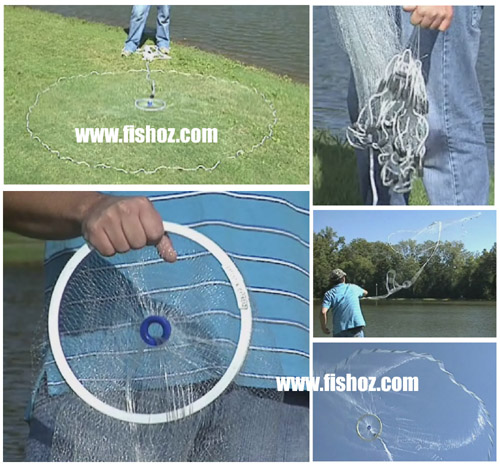 cast net video