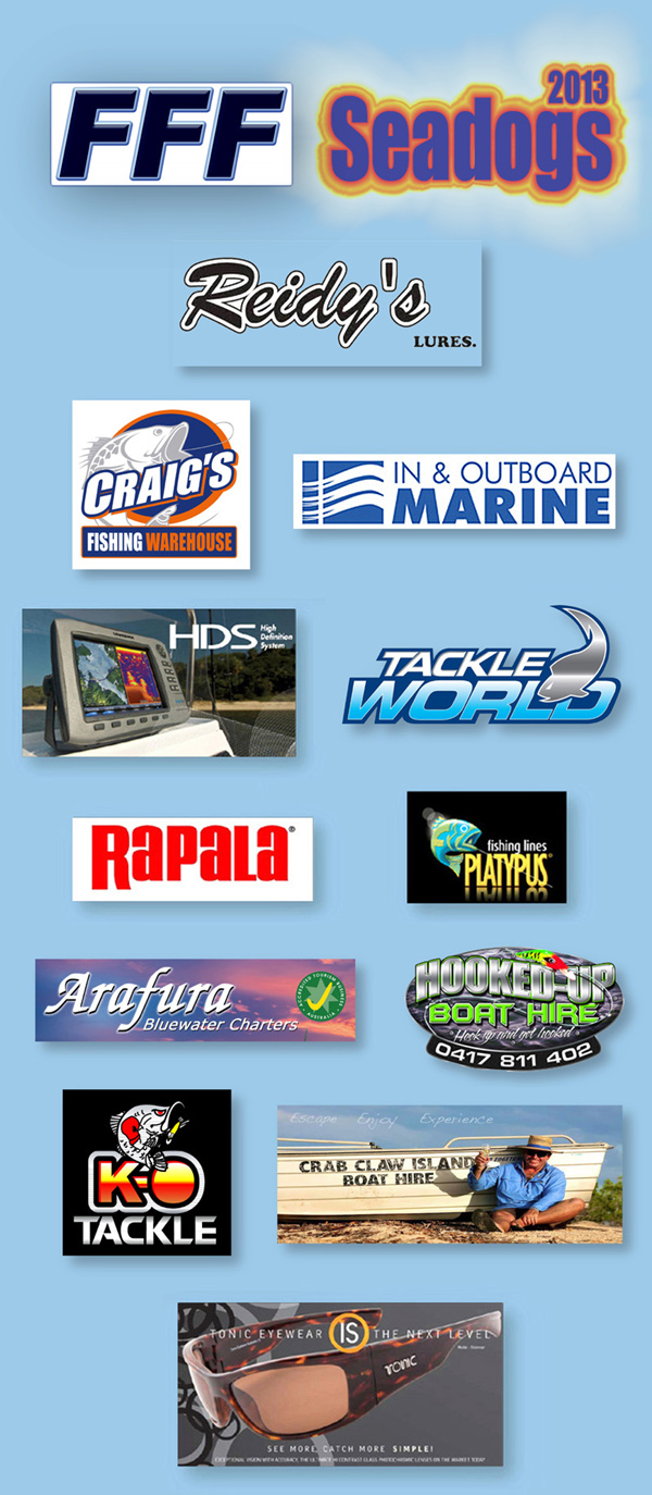 FFF Seadogs barramundi fishing competition